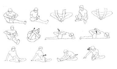 estiramientos piernas