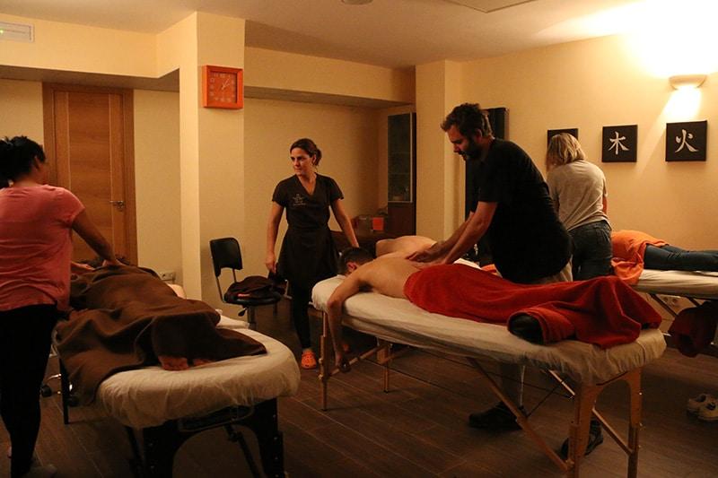 cursos de masaje madrid
