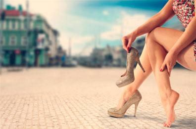 circulación en piernas