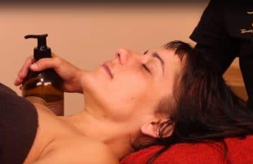 masaje para dormir