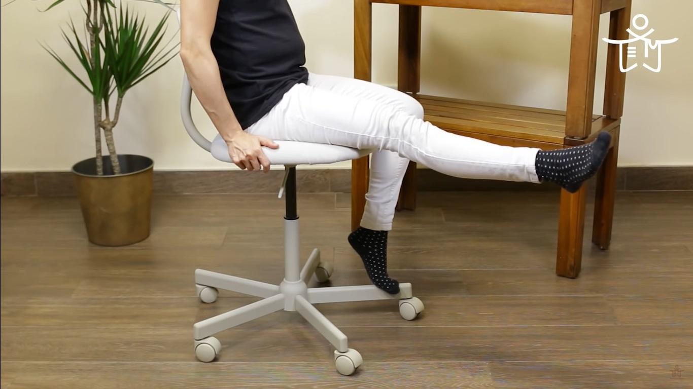Movimiento para disminuir dolor de rodillas