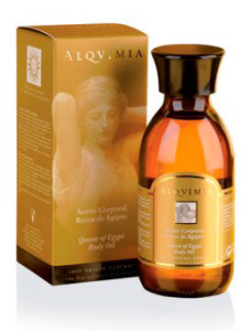 masaje con aceite corporal Reina de Egipto