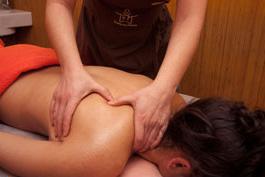 masaje descontracturante