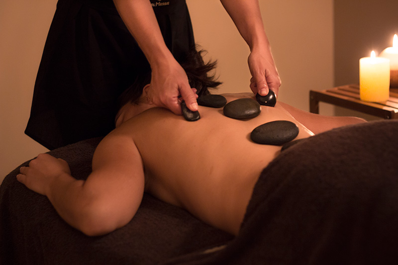 masaje piedras calientes madrid